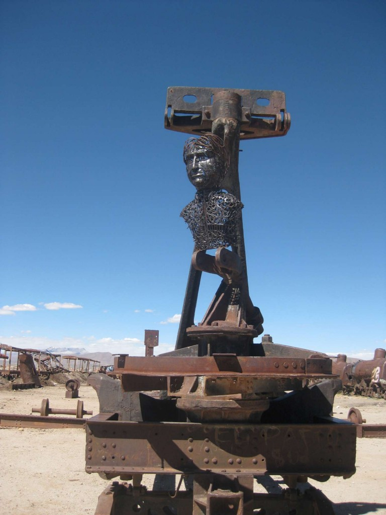 Creepy Statue, Uyuni