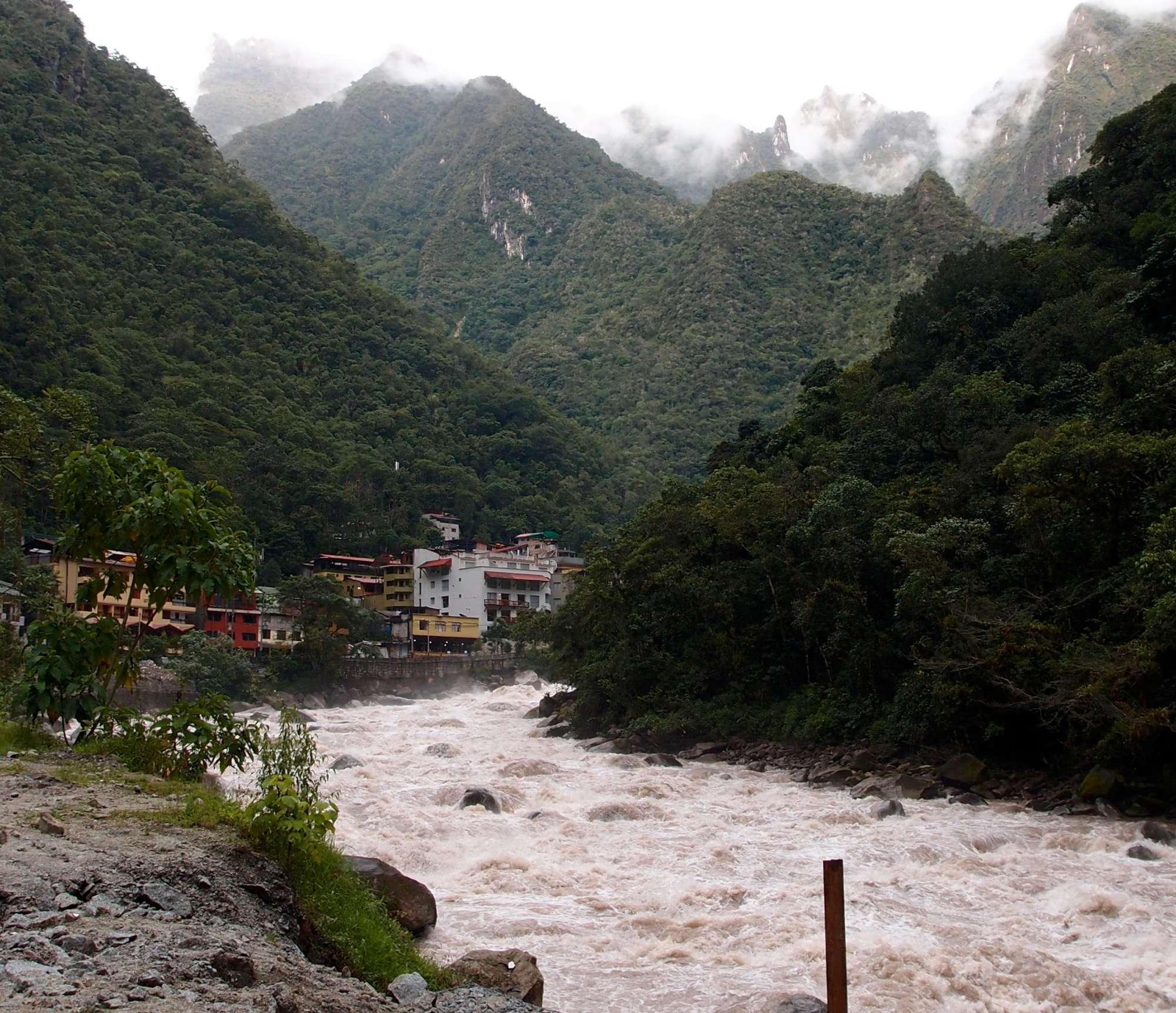 Aguas Calientes Peru Machu Picchu